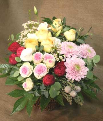 花ギフト|フラワーギフト|誕生日 花|カノシェ話題|スタンド花|ウエディングブーケ|花束|花屋|丸い