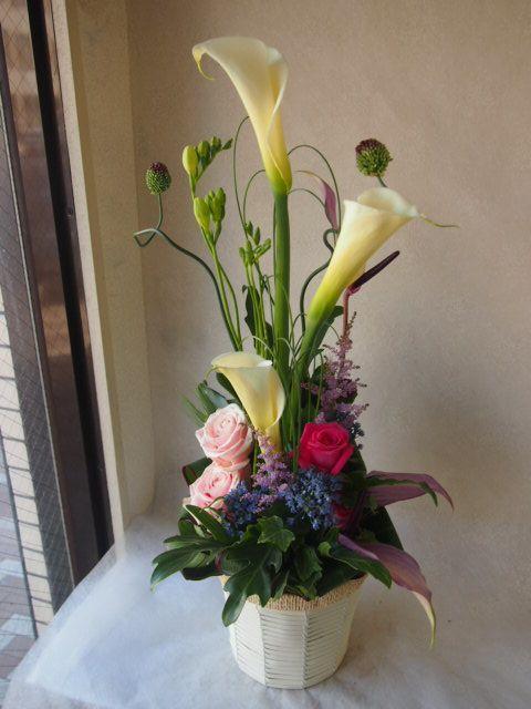 花ギフト|フラワーギフト|誕生日 花|カノシェ話題|スタンド花|ウエディングブーケ|花束|花屋|54667
