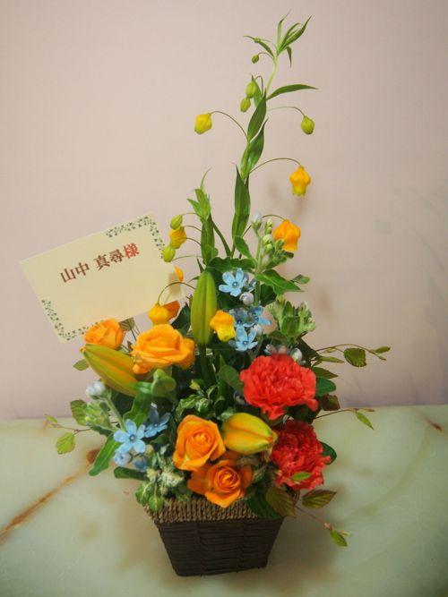 花ギフト|フラワーギフト|誕生日 花|カノシェ話題|スタンド花|ウエディングブーケ|花束|花屋|56010