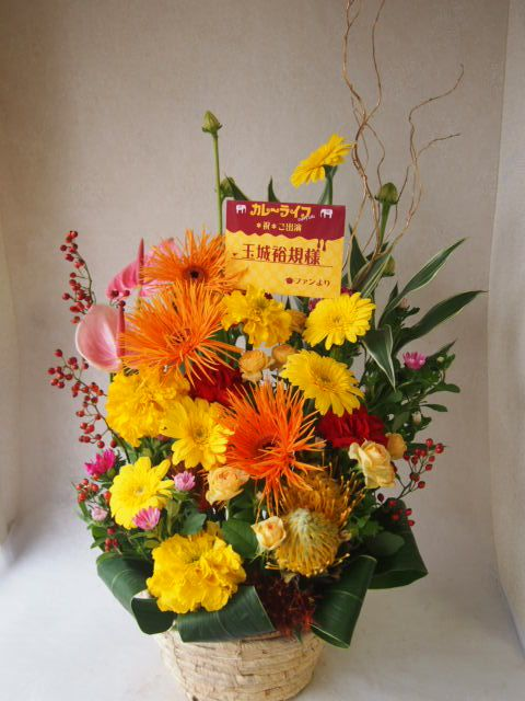 花ギフト|フラワーギフト|誕生日 花|カノシェ話題|スタンド花|ウエディングブーケ|花束|花屋|51278(1)