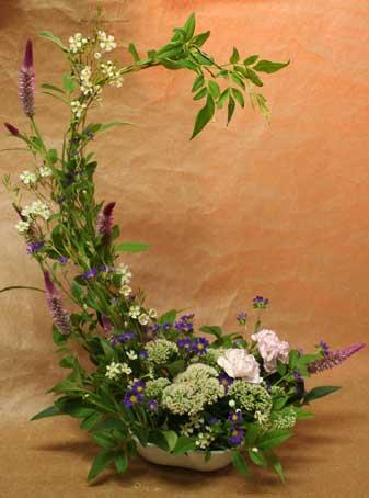 花ギフト フラワーギフト 誕生日 花 カノシェ話題 スタンド花 ウエディングブーケ 花束 花屋 えみこさん ワックス