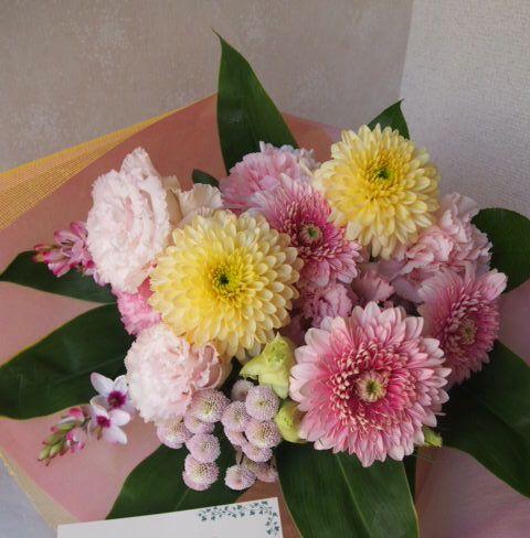 花ギフト|フラワーギフト|誕生日 花|カノシェ話題|スタンド花|ウエディングブーケ|花束|花屋|47754