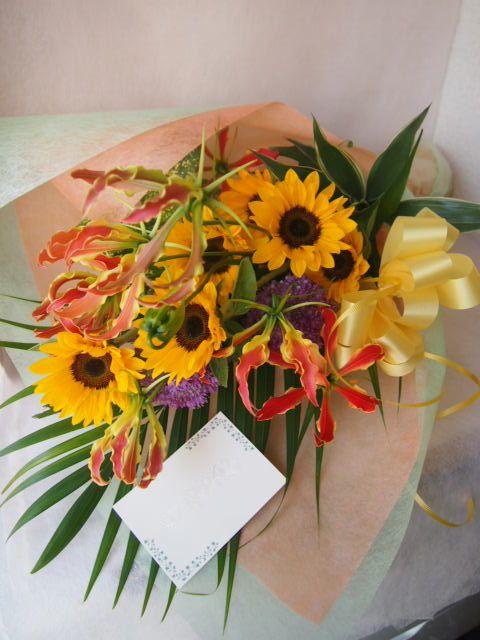 花ギフト|フラワーギフト|誕生日 花|カノシェ話題|スタンド花|ウエディングブーケ|花束|花屋|40844