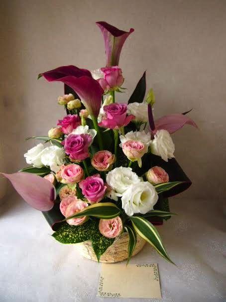 花ギフト|フラワーギフト|誕生日 花|カノシェ話題|スタンド花|ウエディングブーケ|花束|花屋|57093