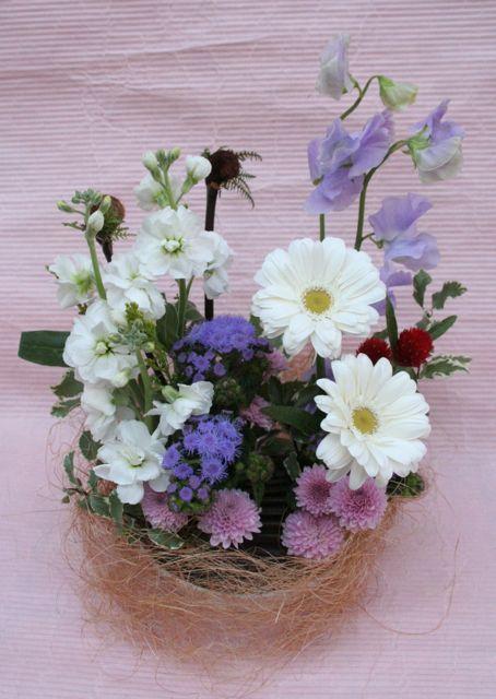 花ギフト|フラワーギフト|誕生日 花|カノシェ話題|スタンド花|ウエディングブーケ|花束|花屋|IMG_0330
