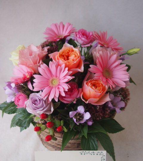 花ギフト|フラワーギフト|誕生日 花|カノシェ話題|スタンド花|ウエディングブーケ|花束|花屋|42643(1)