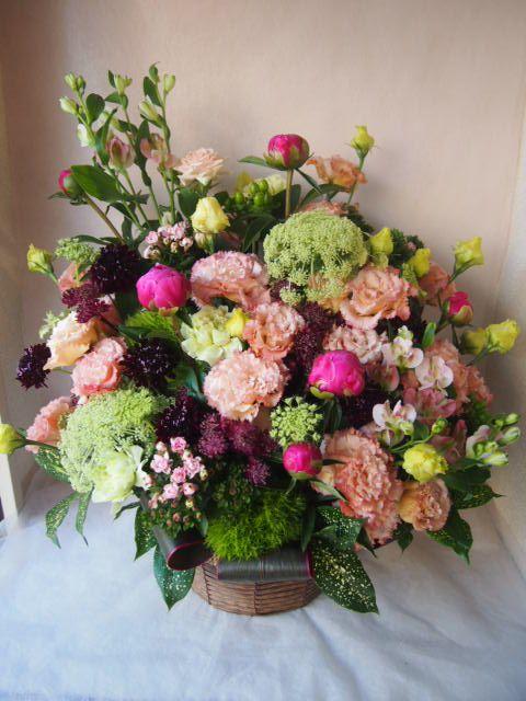 花ギフト|フラワーギフト|誕生日 花|カノシェ話題|スタンド花|ウエディングブーケ|花束|花屋|40683