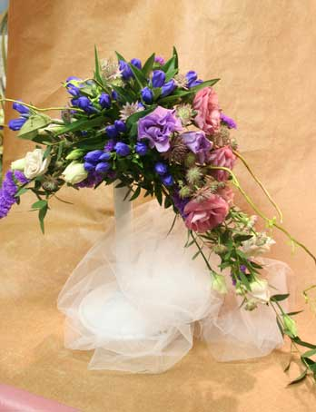 花ギフト|フラワーギフト|誕生日 花|カノシェ話題|スタンド花|ウエディングブーケ|花束|花屋|ひとみさん紫