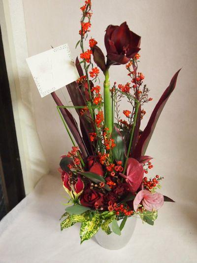 花ギフト|フラワーギフト|誕生日 花|カノシェ話題|スタンド花|ウエディングブーケ|花束|花屋|37715