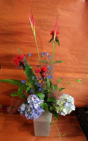 花ギフト|フラワーギフト|誕生日 花|カノシェ話題|スタンド花|ウエディングブーケ|花束|花屋|じゅんこさんあじさい