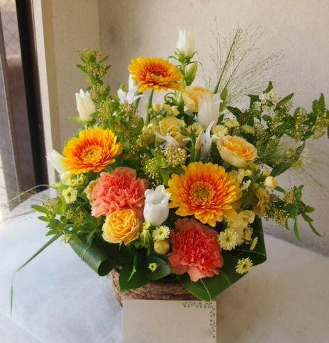 花ギフト|フラワーギフト|誕生日 花|カノシェ話題|スタンド花|ウエディングブーケ|花束|花屋|54383