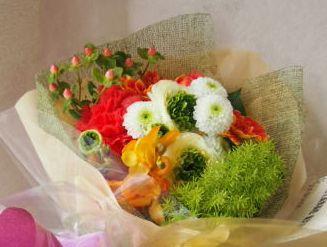花ギフト|フラワーギフト|誕生日 花|カノシェ話題|スタンド花|ウエディングブーケ|花束|花屋|45554-3