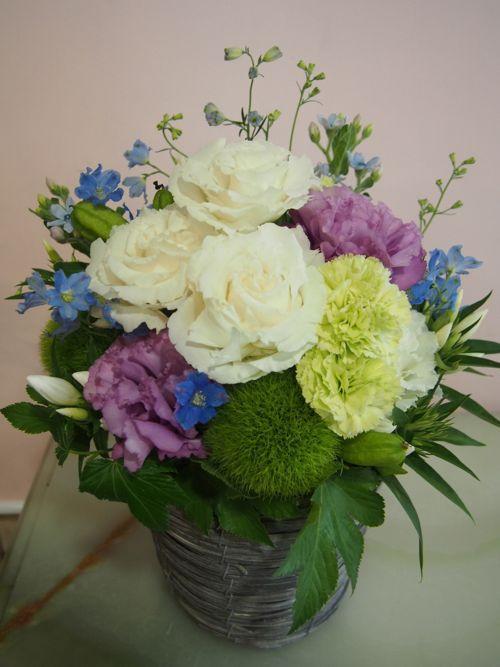 花ギフト|フラワーギフト|誕生日 花|カノシェ話題|スタンド花|ウエディングブーケ|花束|花屋|m-2