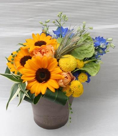 花ギフト|フラワーギフト|誕生日 花|カノシェ話題|スタンド花|ウエディングブーケ|花束|花屋|2015_father_a1(1)