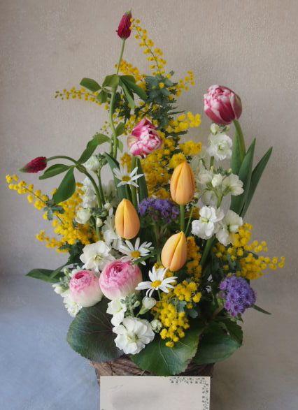 花ギフト|フラワーギフト|誕生日 花|カノシェ話題|スタンド花|ウエディングブーケ|花束|花屋|53615