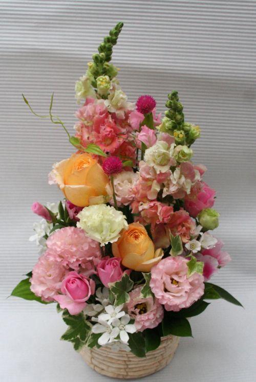 花ギフト|フラワーギフト|誕生日 花|カノシェ話題|スタンド花|ウエディングブーケ|花束|花屋|IMG_0264