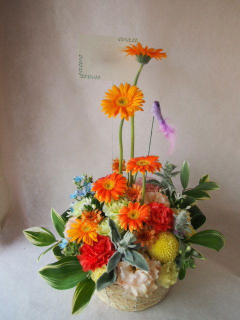 花ギフト|フラワーギフト|誕生日 花|カノシェ話題|スタンド花|ウエディングブーケ|花束|花屋|40908