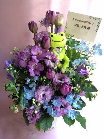 花ギフト|フラワーギフト|誕生日 花|カノシェ話題|スタンド花|ウエディングブーケ|花束|花屋|45222(1)