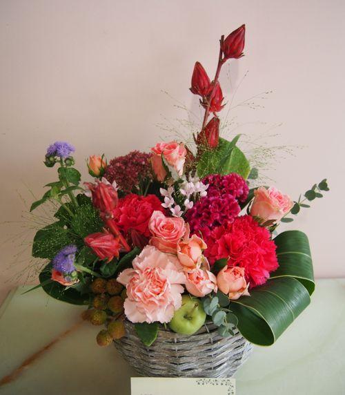花ギフト|フラワーギフト|誕生日 花|カノシェ話題|スタンド花|ウエディングブーケ|花束|花屋|58521