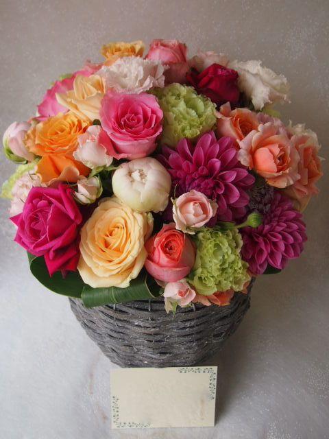 花ギフト|フラワーギフト|誕生日 花|カノシェ話題|スタンド花|ウエディングブーケ|花束|花屋|55887