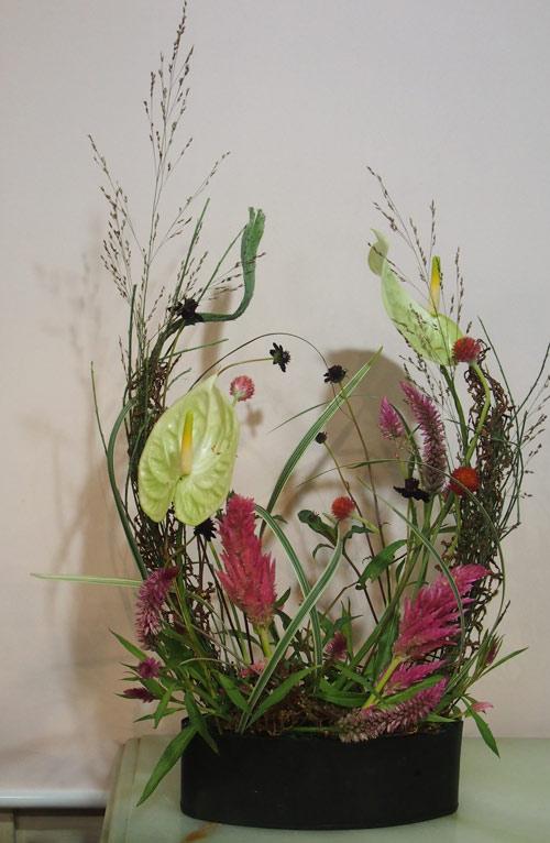 花ギフト|フラワーギフト|誕生日 花|カノシェ話題|スタンド花|ウエディングブーケ|花束|花屋|P8230893