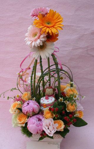 花ギフト|フラワーギフト|誕生日 花|カノシェ話題|スタンド花|ウエディングブーケ|花束|花屋|saya-sarukosan