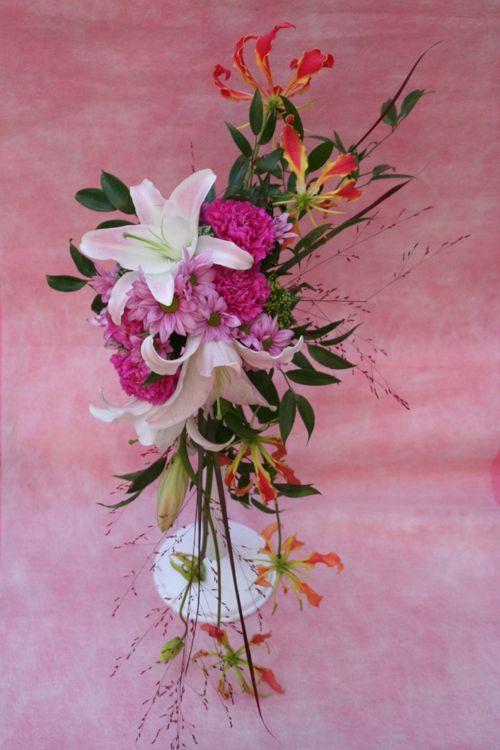花ギフト|フラワーギフト|誕生日 花|カノシェ話題|スタンド花|ウエディングブーケ|花束|花屋|IMG_9668