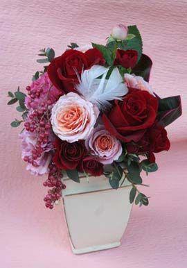 花ギフト|フラワーギフト|誕生日 花|カノシェ話題|スタンド花|ウエディングブーケ|花束|花屋|2012whiteday_a4