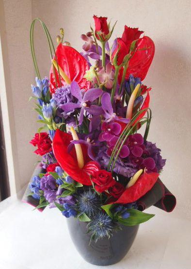 花ギフト|フラワーギフト|誕生日 花|カノシェ話題|スタンド花|ウエディングブーケ|花束|花屋|49880