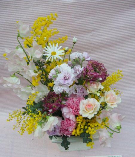 花ギフト|フラワーギフト|誕生日 花|カノシェ話題|スタンド花|ウエディングブーケ|花束|花屋|53332