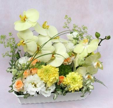 花ギフト フラワーギフト 誕生日 花 カノシェ話題 スタンド花 ウエディングブーケ 花束 花屋 IMG_7589