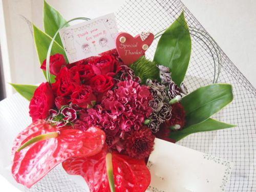 花ギフト|フラワーギフト|誕生日 花|カノシェ話題|スタンド花|ウエディングブーケ|花束|花屋|55835