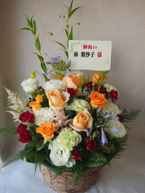 花ギフト|フラワーギフト|誕生日 花|カノシェ話題|スタンド花|ウエディングブーケ|花束|花屋|48138