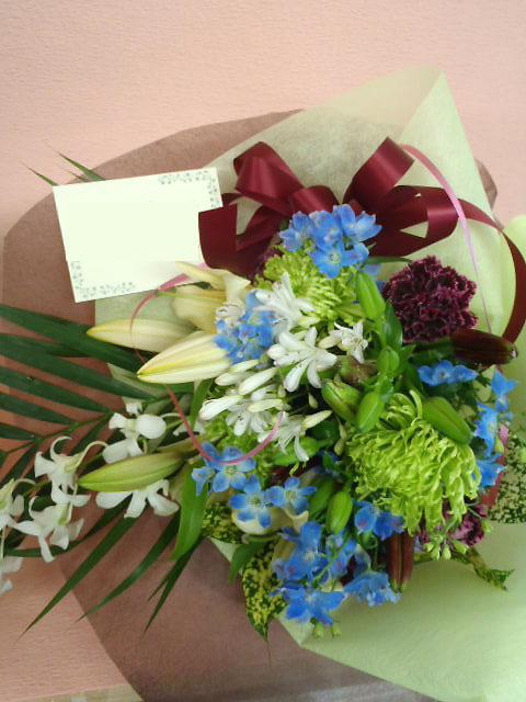 花ギフト|フラワーギフト|誕生日 花|カノシェ話題|スタンド花|ウエディングブーケ|花束|花屋|JUN-HANATABA