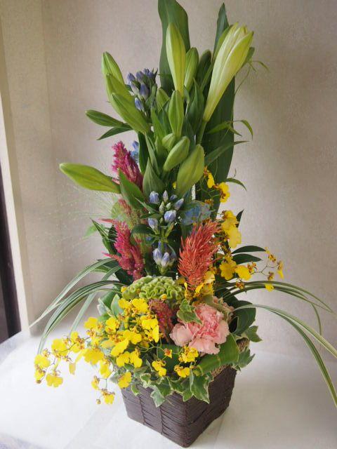 花ギフト|フラワーギフト|誕生日 花|カノシェ話題|スタンド花|ウエディングブーケ|花束|花屋|49834