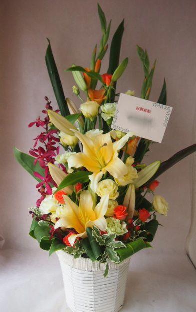 花ギフト|フラワーギフト|誕生日 花|カノシェ話題|スタンド花|ウエディングブーケ|花束|花屋|43157