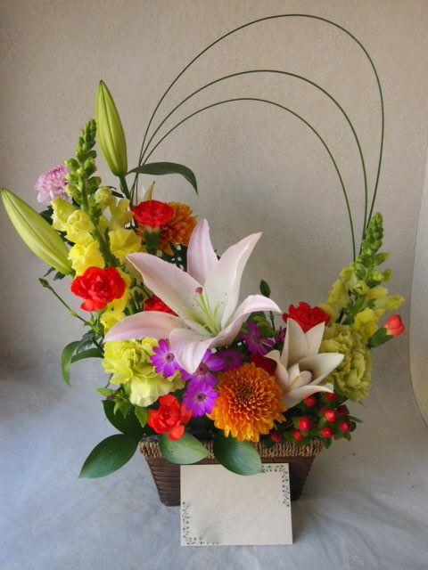 花ギフト|フラワーギフト|誕生日 花|カノシェ話題|スタンド花|ウエディングブーケ|花束|花屋|53533