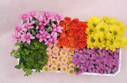 花ギフト フラワーギフト 誕生日 花 カノシェ話題 スタンド花 ウエディングブーケ 花束 花屋 IMG_7370