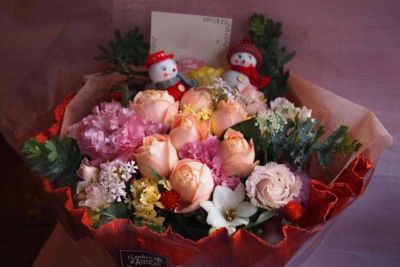 花ギフト|フラワーギフト|誕生日 花|カノシェ話題|スタンド花|ウエディングブーケ|花束|花屋|37612-1