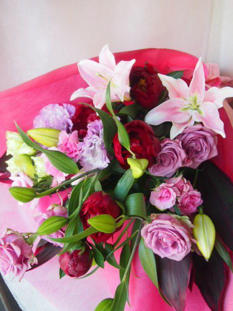 花ギフト|フラワーギフト|誕生日 花|カノシェ話題|スタンド花|ウエディングブーケ|花束|花屋|40810
