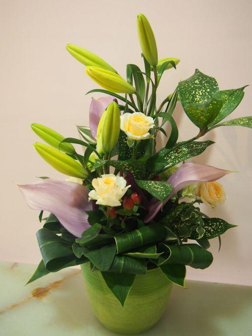 花ギフト|フラワーギフト|誕生日 花|カノシェ話題|スタンド花|ウエディングブーケ|花束|花屋|48276(4)