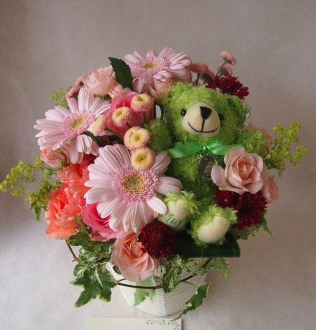 花ギフト|フラワーギフト|誕生日 花|カノシェ話題|スタンド花|ウエディングブーケ|花束|花屋|40481