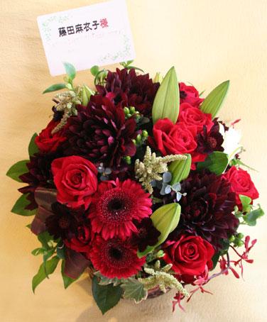 花ギフト|フラワーギフト|誕生日 花|カノシェ話題|スタンド花|ウエディングブーケ|花束|花屋|黒蝶
