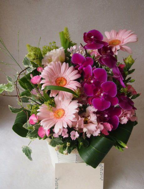 花ギフト|フラワーギフト|誕生日 花|カノシェ話題|スタンド花|ウエディングブーケ|花束|花屋|49450