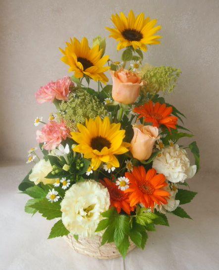 花ギフト|フラワーギフト|誕生日 花|カノシェ話題|スタンド花|ウエディングブーケ|花束|花屋|48265