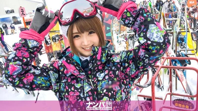 まや 22歳 インフォメーションセンターの受付嬢 - 【スノボナンパ 02 in 新潟 - 2...