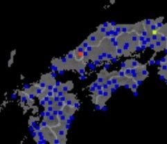 島根地震画像