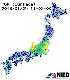 強震地震画像