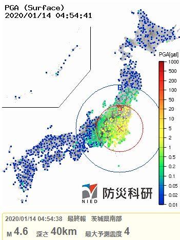 2020y01m14茨城県南部地震