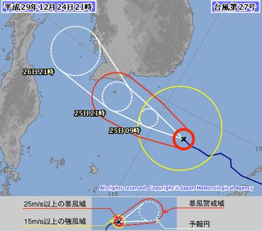 台風第27号 (テンビン)1727-00